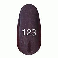 Гель-лак  Kodi 8 мл № 123 сливово-черный с микроблеском