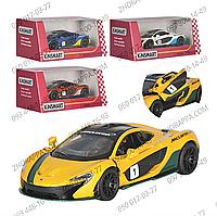"""Гоночная машинка KT 5393 WF, McLaren P1, 4 цвета, гонки """"Формулы 1"""", отличный подарок юному гонщику"""