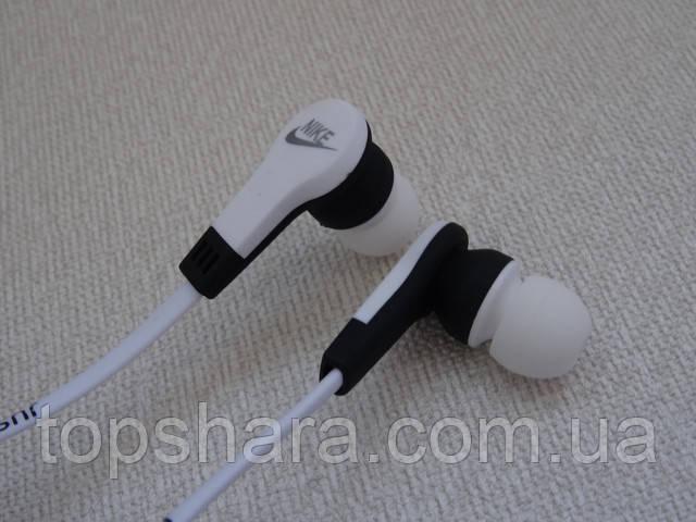 Наушники спортивные беспроводные Bluetooth Nike MS-B4 белые
