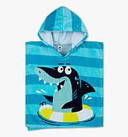 Качественное пляжное полотенце пончо от C&A Palomino Германия 49х55см