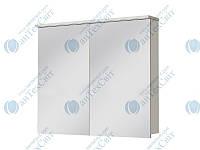 Зеркальный шкаф ЮВЕНТА Мonza MnМС-90 белый