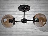 Настенно-потолочный светильник лофт 169-2, фото 2