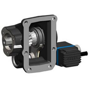 Коробка відбору потужності на Fuso (електричне управління)