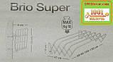 """Настенная сушилка гармошка консольная Gimi """"Brio Super"""", 1,0 м., фото 8"""