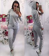Женский спортивный костюм Balenciaga серый