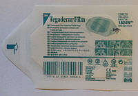 Пластырь Тегадерм 1624W (Tegaderm) водонепроницаемый 6х7см Без разреза