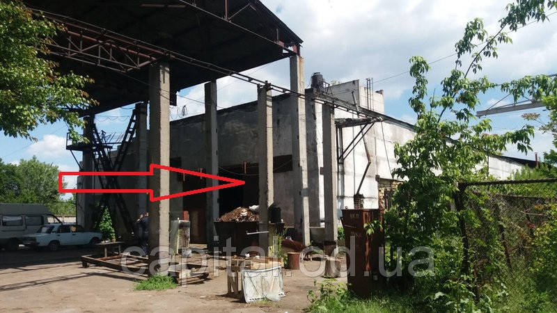 Продажа производственной базы на территории бывшего завода в городе Одесса, Малиновский район, Аэропортовская улица