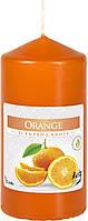 Ароматическая свеча  цилиндр  Апельсин 12см