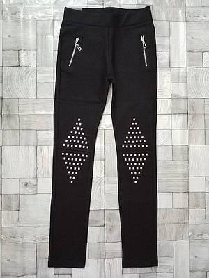 Котоновые брюки для девочек Seagull 6-16 лет