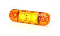 Фонарь светодиодный габаритный боковой WAS 708 (оранжевый)