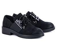 Демисезонная обувь. Женские туфли на шнуровке оптом от производителя Башили B24 (6пар 35-40)