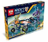 Конструктор Lepin серия Next Cavaliers 14035 Вездеход Аарона 4x4 (Аналог Lego Nexo Knights 70355)