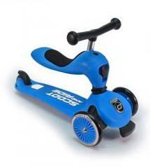 Самокат Scoot and Ride Highwaykick-1 синий, от 1 года, до 20кг (SR-160629-BLUE)