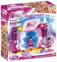 Конструктор для девочек Школа волшебниц Винкс 'Волшебный концерт'