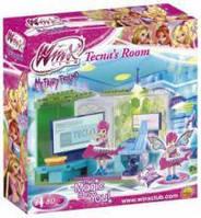 Конструктор для девочек Феи Винкс Комната Текны  80 деталей (25081)
