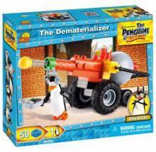 Конструктор Cobi пингвины Мадагаскара Дематериализатор 50 деталей Cobi-26050