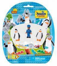Конструктор  COBI Фигурки 'Пингвины Мадагаскара', 3шт в блистере