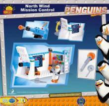 Конструктор Пингвины из Мадагаскара:  Миссия 'Северный Ветер'  COBI-26082