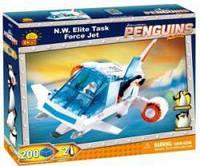 Конструктор пингвины из Мадагаскара: Миссия  Самолет элитного отряда 'Северный Ветер' COBI-26203