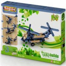 Конструктор Вертолеты, 3 модели, Engino EB12