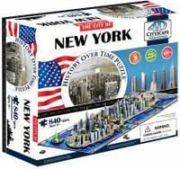 4d пазл  город 'Нью-Йорк, США', Cityscape 40010