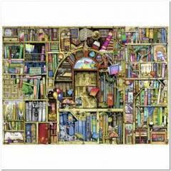 Пазлы Ravensburger 'Причудливый книжный магазин №2, 1000 элементов '