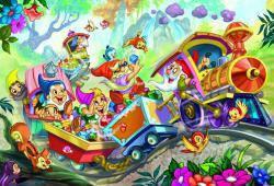 Пазлы из мультфильмов 'Белоснежка, 35 элементов