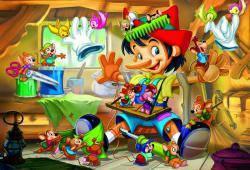 Пазлы из мультфильмов 'Пиноккио, 35 элементов