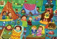 Пазлы из мультфильмов Пижамная вечеринка. 60 элементов