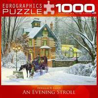 Картины из пазлов 'Вечерняя прогулка' Eurographics 8000-0614