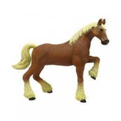 Объемный пазл 3d Лошадь тяжеловоз коричневая, 4D Master 26527
