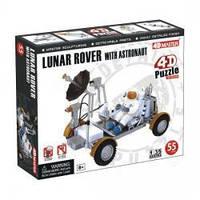 Объемный пазл 3d   Лунный вездеход с астронавтом, 4D Master 26374