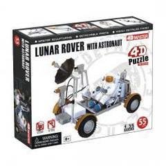 Объемный пазл 3d Лунный вездеход с астронавтом 4D Master 26374