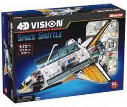Объемная модель Космический корабль Спейс Шаттл, 4D Master 26116