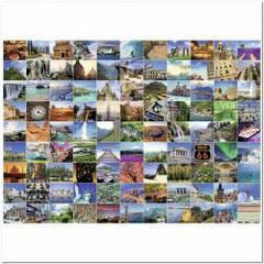 Пазлы Пейзажи '99 волшебных мест мира, 1000 элементов '