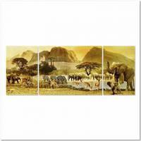 Пазлы Пейзажи 'Путешествие по Африке, 1000 элементов. Триптих '