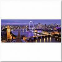 Пазлы Пейзажи 'Ночной Лондон, 1000 элементов. Панорамный '