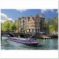 Пазлы Пейзажи 'Экскурсия по каналу, Амстердам, 1000 элементов '