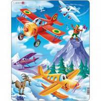 Пазлы для маленьких детей Larsen Самолетики