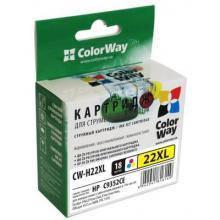 Картридж для HP №22XL Color (аналог C9352CE)   (ColorWay CW-H22XL)