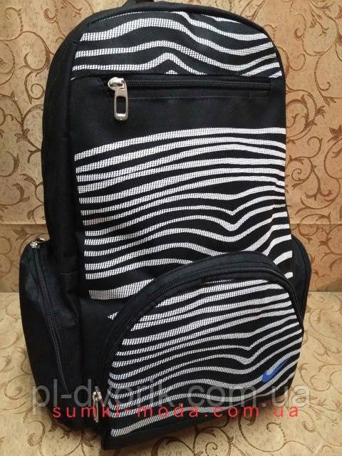 Рюкзак спортивний найк nike велика/ Рюкзак спорт Поліестер Оксфорд міської стильний чорний