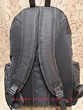 Рюкзак спортивний найк nike велика/ Рюкзак спорт Поліестер Оксфорд міської стильний чорний, фото 2