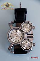 "Наручные часы ""Армейский стиль. 3-х часовой пояс."""