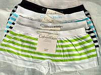 Бесшовные трусики-шортики женские 44-48 Calvin Klein Кельвин Кляйн