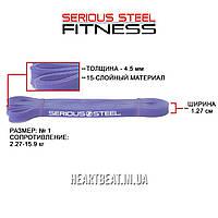 Резиновая петля сопротивления жгут Serious Steel (2.27-15.9 кг)