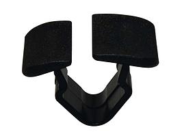 Нажимное крепление тепло- шумоизоляции капота с прямоугольной шляпкой Volvo S40, V50 867863849A01C
