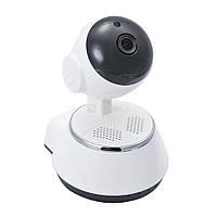 IP-камера Wi-Fi 360 градусов, поворотная камера V380-Q6 , фото 1