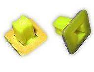 Универсальная вставка под саморез с прямоугольной шляпкой , цвет желтый Isuzu, GM  8975833970, 97583397