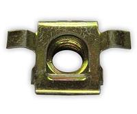 Металлический фиксатор брызговиков подкрылок Fiat ОЕМ: 7622939, 93924503