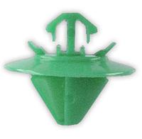 Крепление бокового молдинга Fiat Scudo, 9408565488 Зеленый